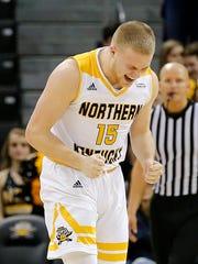 Tyler Sharpe averages 12 points per game for NKU.