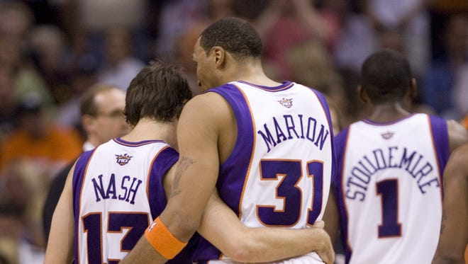 Steve Nash and Shawn Marion are two of the best Suns' first-round NBA draft picks ever.