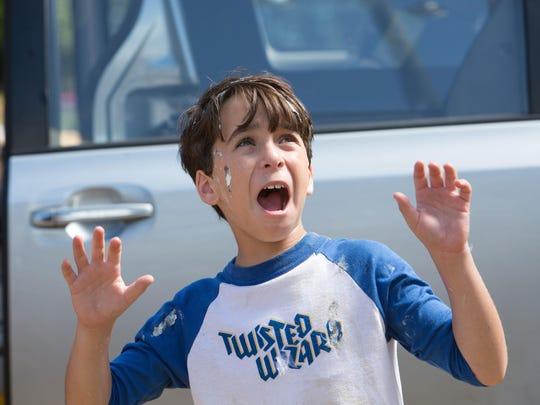 "Jason Drucker in ""Diary of a Wimpy Kid: The Long Haul."""