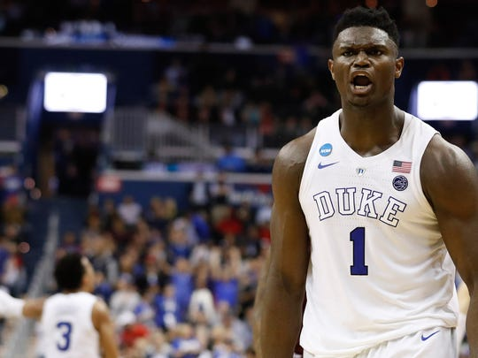 Former Duke star Zion Williamson is the presumptive No. 1 pick in the 2019 NBA Draft.