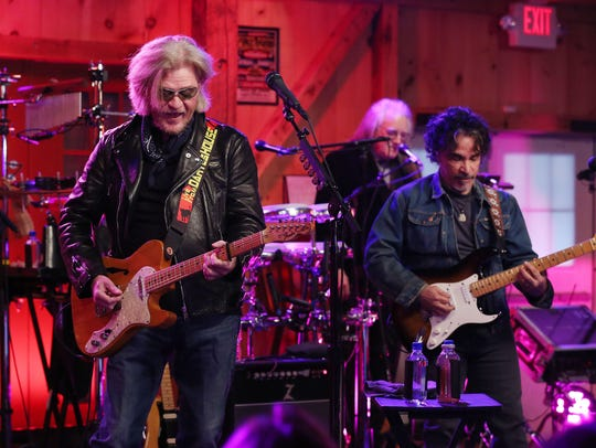Daryl Hall and John Oates along with Train's Pat Monahan
