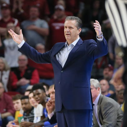 Calipari finally hits on a lineup that gives Kentucky basketball a shot to win | Page