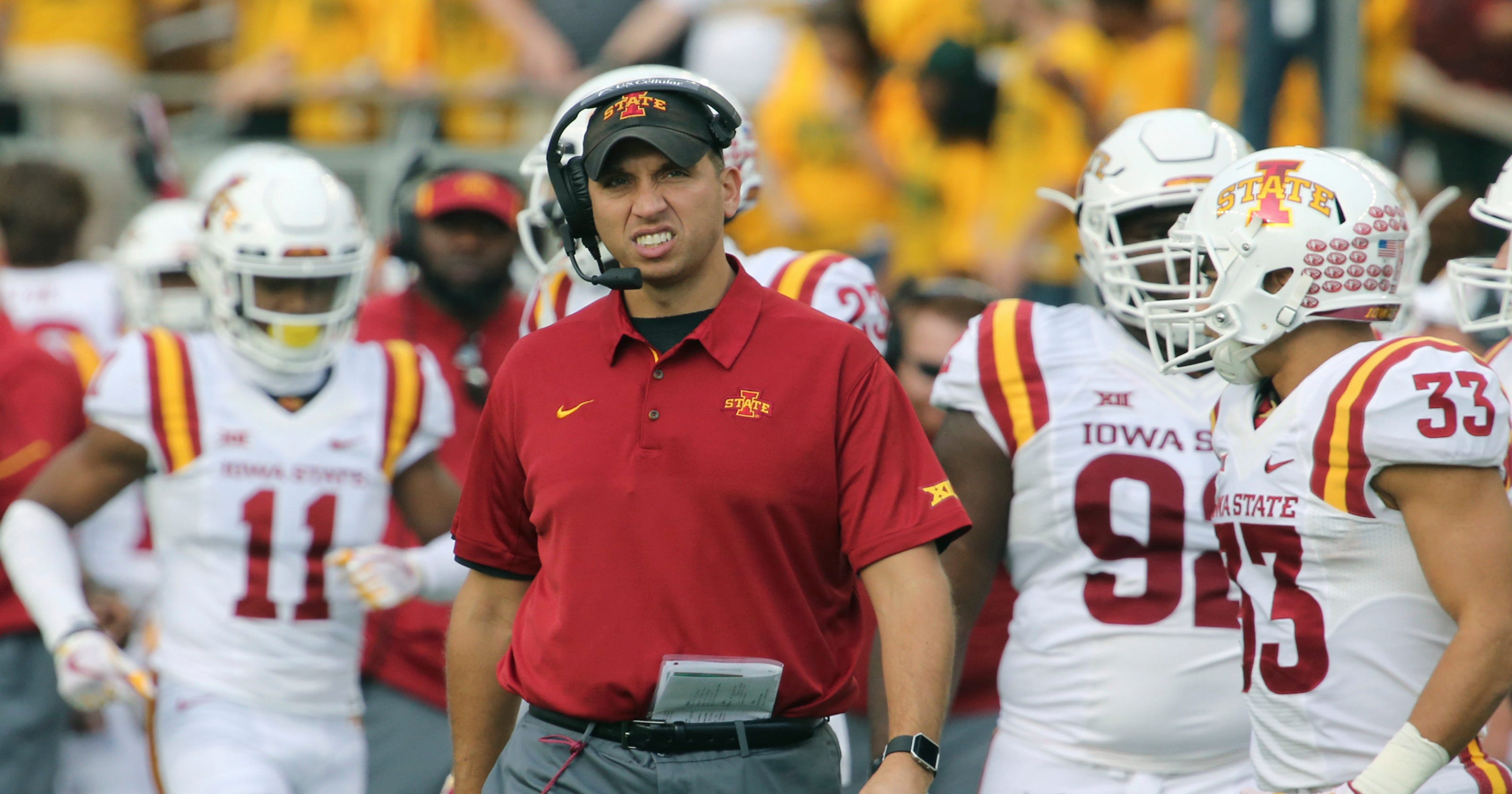 huge selection of 8460b e1e23 Big 12 football: Iowa State football is a Nike priority