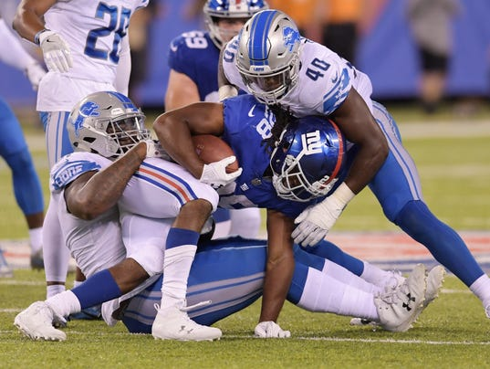lions defense, detroit lions new york giants