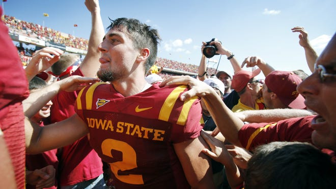 Steele Jantz made several clutch plays in overtime in 2011 at home vs. Iowa.