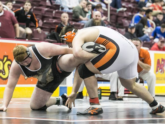 Two losses on Friday by Central York sophomore Michael