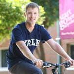 Wade Southwell, 25, is moving to New Haven, Conn., where he will enroll at Yale University in the fall.