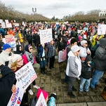Hundreds gather at Capitol for immigration rights rally