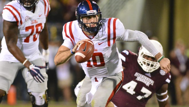 A source has told the Associated Press that Chad Kelly's invited to the NFL combine has been rescinded.