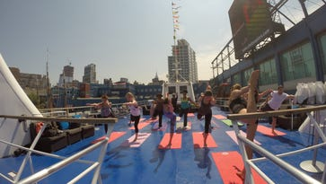 Work-out rut? Try a yoga cruise in NYC