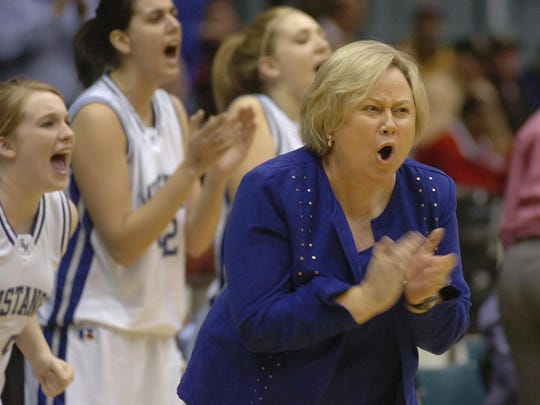 Former Smoky Mountain High coach Cindi Simmons is the chairwoman for the Jackson County Athletics Hall of Fame.