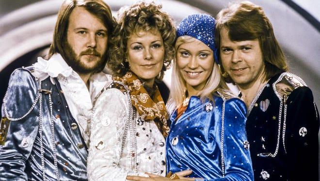 Swedish pop group Abba.