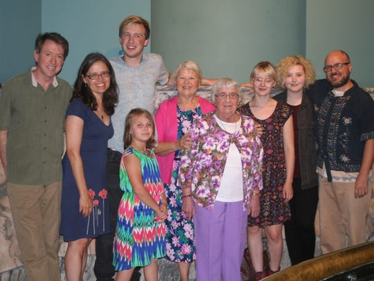 TURNING 90 Gigi, (Martha J. Spillman Kirkpatrick) celebrated
