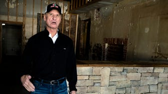 Mike Watson, property owner, stands inside a space he plans on turning into a whiskey bar entitled Graham Woods Neighborhood Pub on the 1000 block of E. Fairview Avenue in Montgomery, Ala., on Wednesday, March 15, 2018.