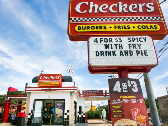 A Checkers at 4302 N. Market St. in Wilmington is the