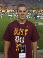 Riley Erickson, from Phoenix Desert Vista, is azcentral sports' Academic All-Star of the Week for Nov. 24-Dec. 1.