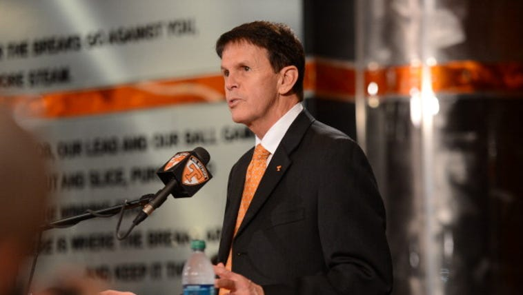 UT Athletic Director Dave Hart