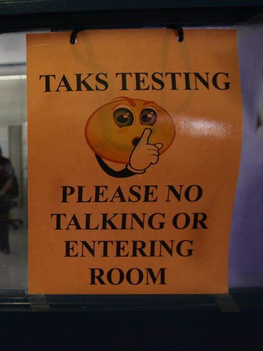 TAKS Testing file