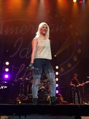 """Jax performing Wednesday when """"American Idol Live!"""" made a stop in Jacksonville, Florida."""