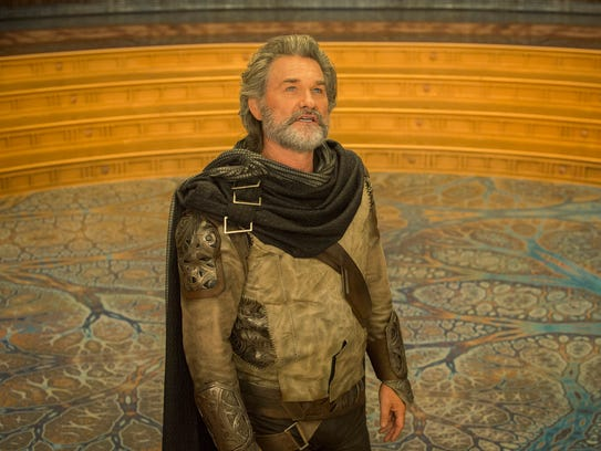 Kurt Russell plays Ego, a living planet, in 'Guardians
