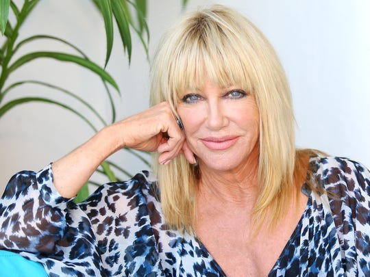 "At age 68, Suzanne Somers follows 'Dancing with the Stars' with a new book, ""Tox-sick,"" and a show in Las Vegas, ""Suzanne Sizzles."""