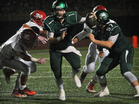 Iowa Park junior quarterback Trent Green is expected to have a huge season with the Hawks, who open the year against Holliday.