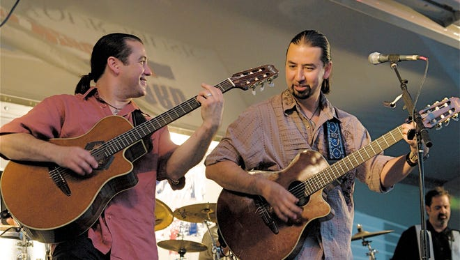 Guitarists and brothers Rick and Mark del Castillo have the original Del Castillo band together to play the St. Patrick's Day Downtown Street Festival's Main Stage from 8 to 10 p.m. Saturday