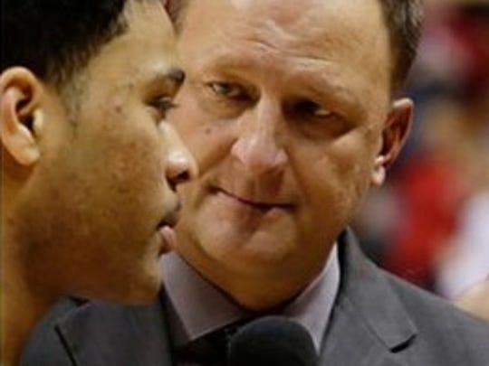ESPN analyst Dan Dakich has reason to celebrate this Valentine's Day. He recently got engaged.