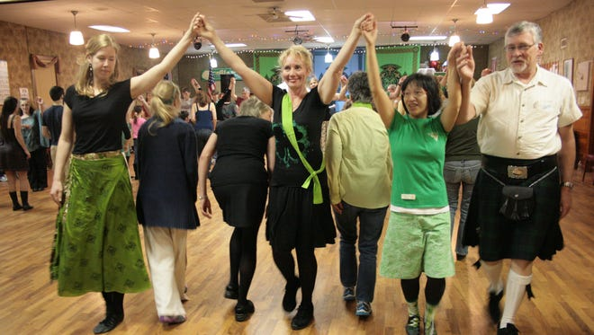 The Ceili of the Valley Society hosts social dancing with live music on the second Friday of the month