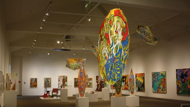 """""""Harold Schlotzhauer: The Shape of Motion"""" inspired the Yellowstone Art Museum to hold an open-call competition this month, inviting the community to submit skateboard designs."""