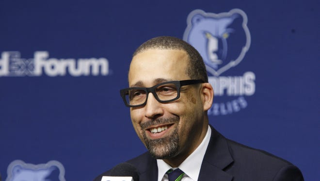 """New Grizzlies coach David Fizdale says team already has """"winning ingredients."""""""