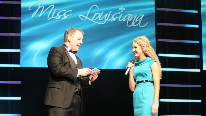 Ed Walsh was a local television anchor when was was tapped to become the emcee of the Miss Louisiana pageant in 2001.