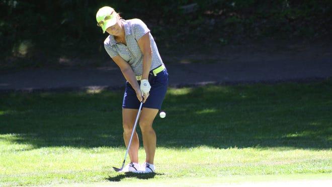 Suzy Green-Roebuck plays in the Michigan PGA Women's Open on Wednesday, June 29, 2016.