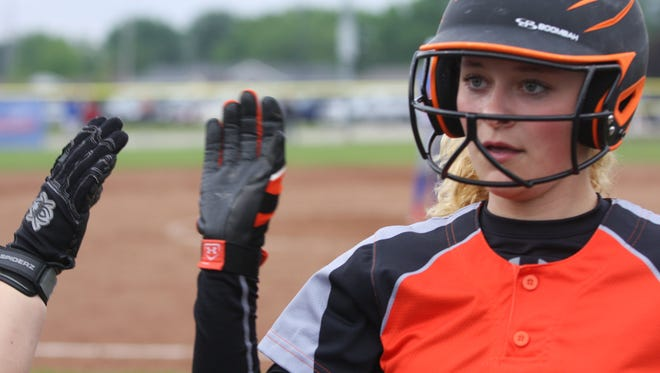Libby Henderson and Gibsonburg have plenty of reasons to be happy, but they certainly remember Carey.