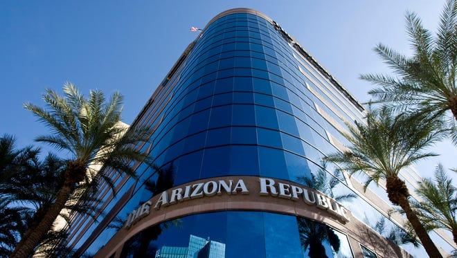 The Arizona Republic's newsroom in Phoenix.