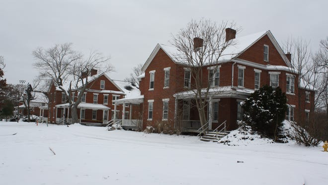 A view of the Army officer homes on Alexander Circle in Fort Thomas.