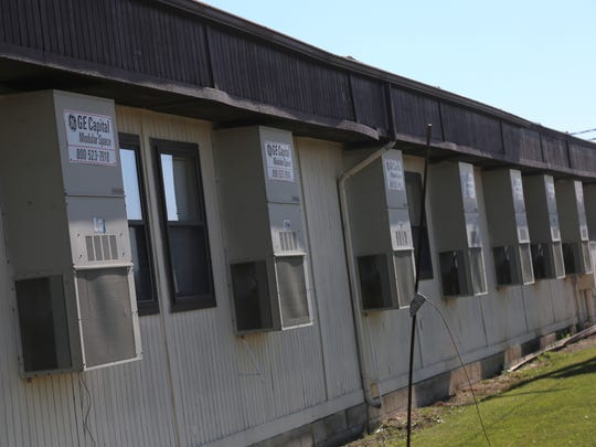 The Wynford Jr. High school currently resides in a series of modular buildings that are close to 20 years old. The buidling are now suffering from foundation and HVAC problems.
