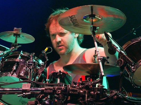 Phish drummer Jon Fishman, pictured in 2004.