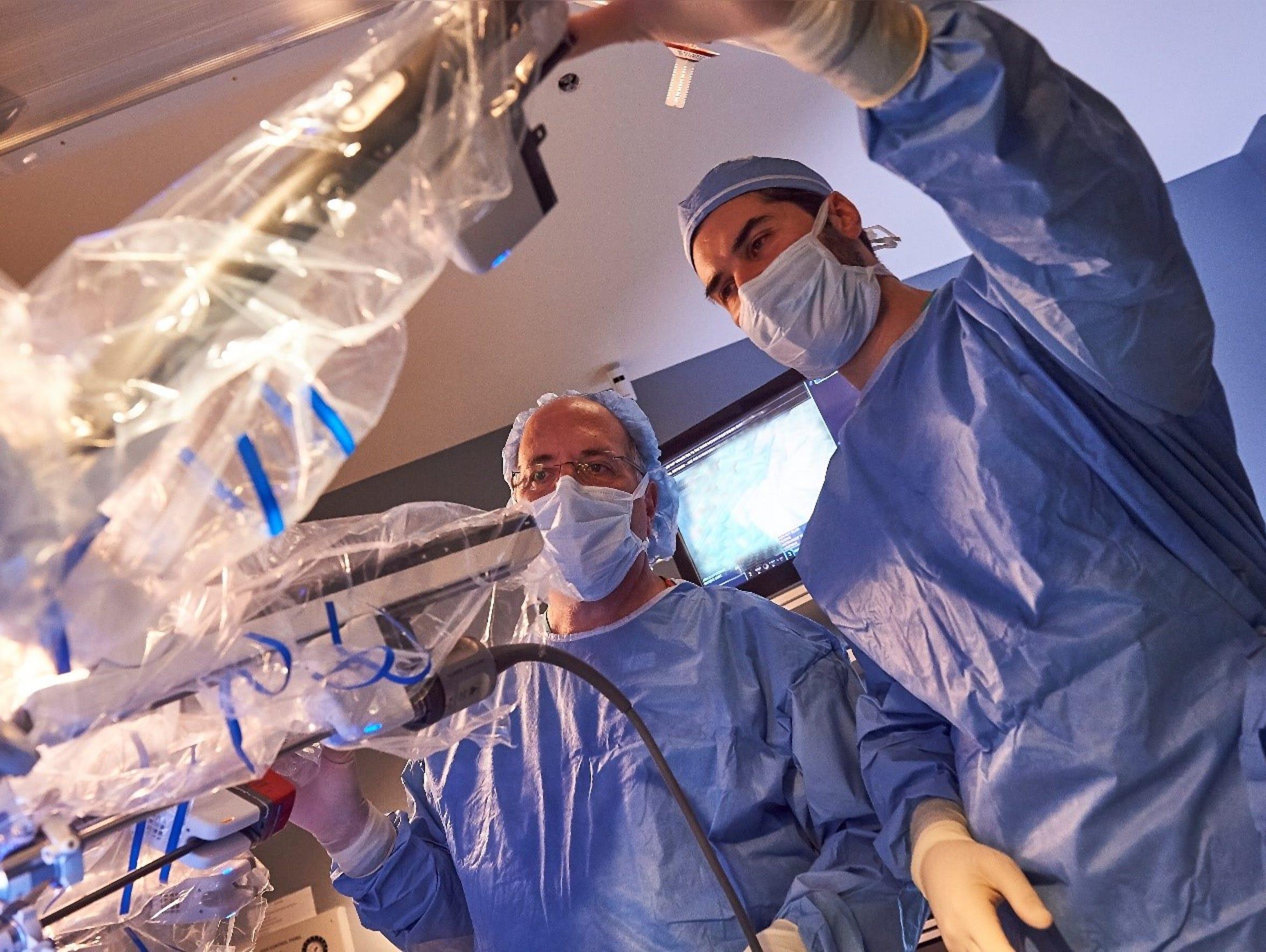 Thomas Kayal, MD, colorectal surgeon and Troy Sukkarieh,