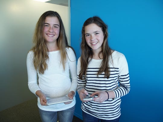 Twin sisters Isabella and Sofia Mandich will attend