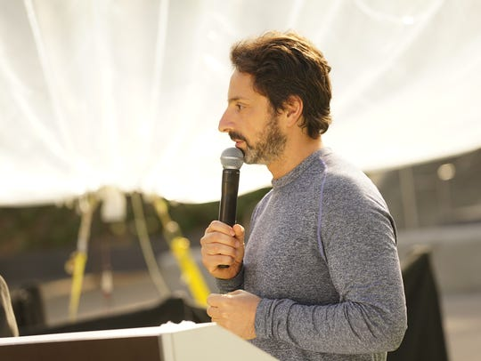 Google co-founder Sergey Brin speaks about Project
