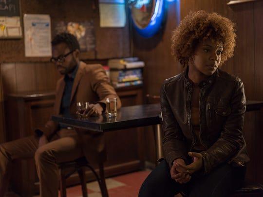 Everett (William Jackson Harper) and Marie (Chasten