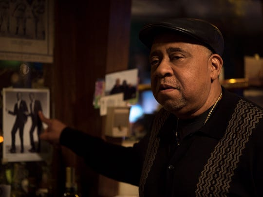 """In """"Paterson,"""" Doc (Barry Shabaka Henley) is the bartender"""