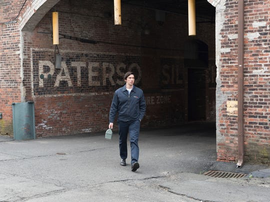 """This image released by Amazon Studios & Bleecker Street shows Adam Driver in a scene from, """"Paterson."""""""