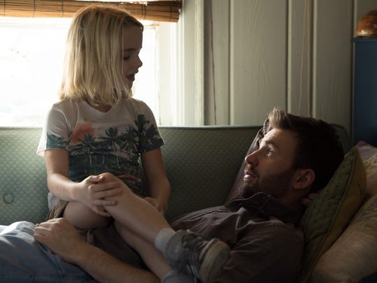 Mary (Mckenna Grace) lives with her uncle (Chris Evans)