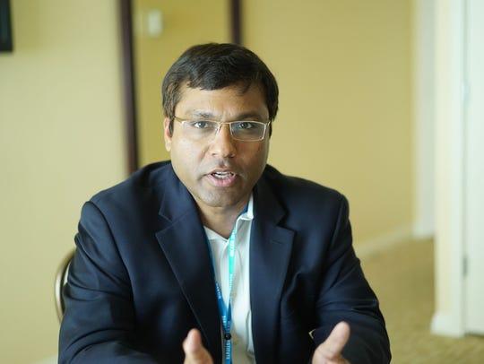 Rohit Prasad, Amazon's head scientist for Alexa.