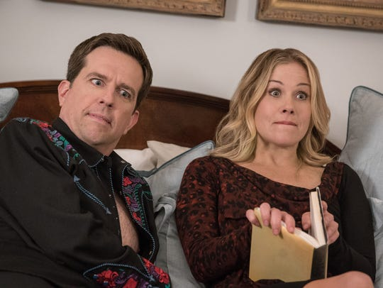 Rusty (Ed Helms) and Debbie Griswold (Christina Applegate)