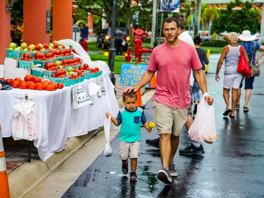The Cape Coral Farmers Market at Cape Harbour runs from 8 a.m. to 1 p.m. Saturdays.