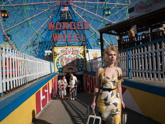 Juno Temple in Woody Allen's WONDER WHEEL, an Amazon