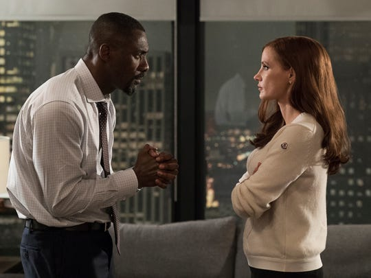 This image released by STXfilms shows Idris Elba and